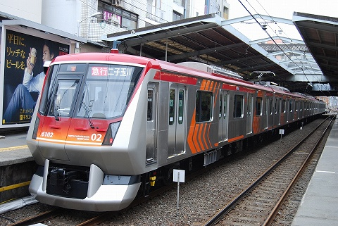Tokyu6000_jiyugaoka