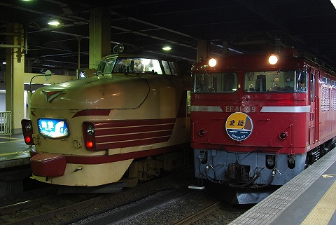 EF81-149&489系@金沢
