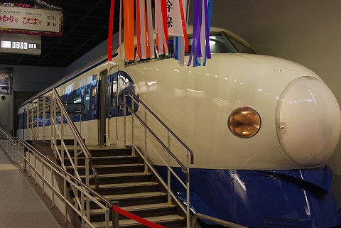 0系@鉄道博物館1