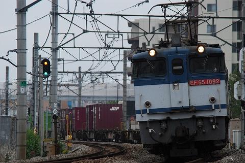 EF65‐1092@宮原'09.10.25