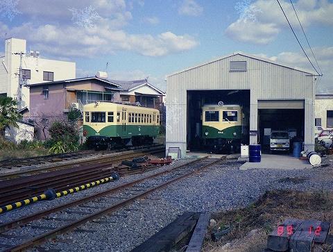 紀州鉄道車庫