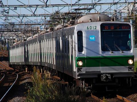 東京メトロ6000系@南柏