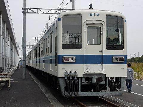 東武8000系@南栗橋車両工場1