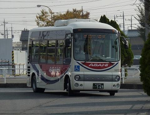 朝日バス@東鷲宮駅