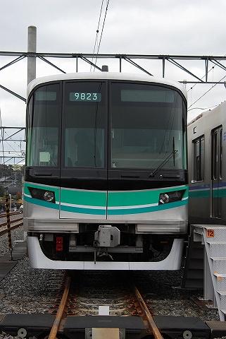 東京メトロ9000系@浦和美園車両基地1
