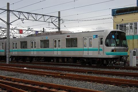 東京メトロ9000系@浦和美園車両基地2
