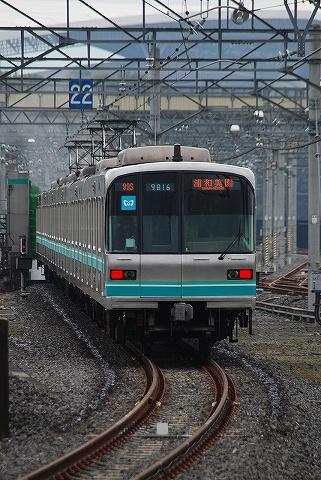 東京メトロ9000系@浦和美園