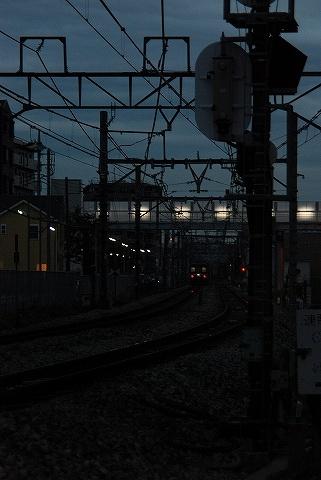 寝台特急あけぼの@宮原'09.11.19