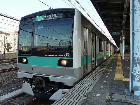 E233系@取手
