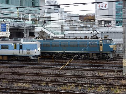 189系&EF66-38@さいたま新都心