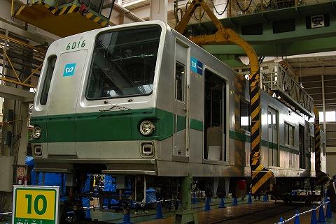 東京メトロ6000系@綾瀬車両基地