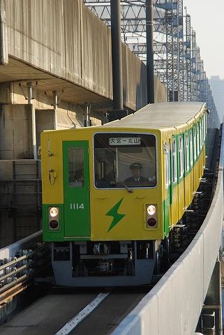 埼玉新都市交通1000系@鉄道博物館1
