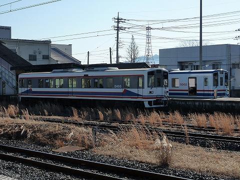 関鉄2400形&5000形@下館'10.1.9