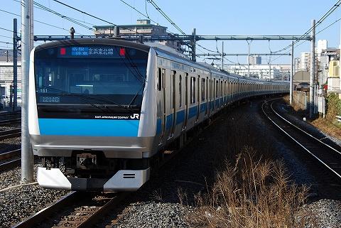 E233系@北浦和'10.1.24-1