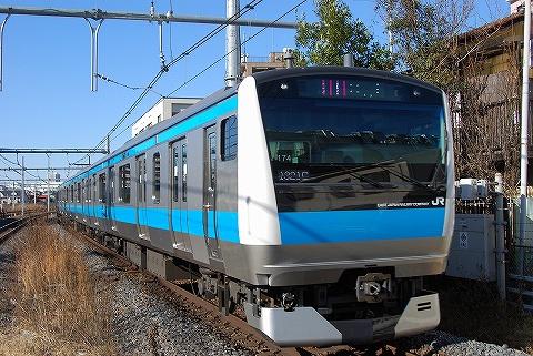 E233系@北浦和'10.1.24-2