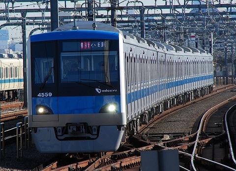 小田急4000形@経堂'10.2.6