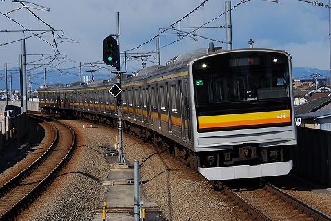 205系@矢野口'10.2.6