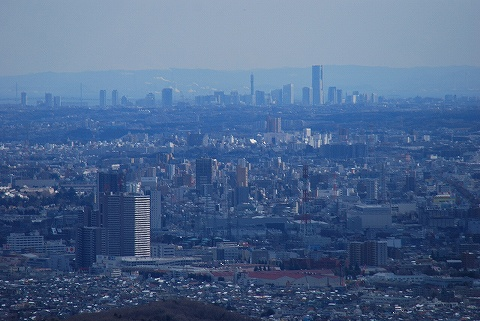 高尾山からの眺望1