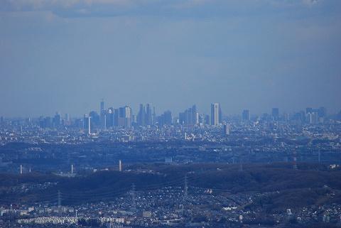 高尾山からの眺め2