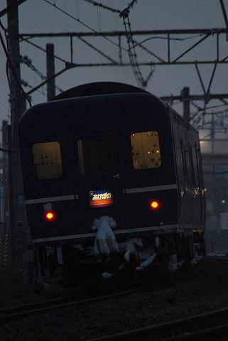 寝台特急あけぼの@宮原'10.2.17-2
