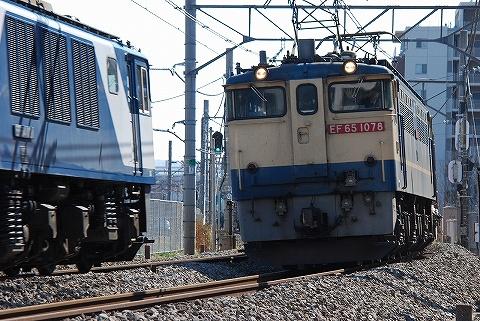 EF65-1078&EF64@宮原'10.2.20