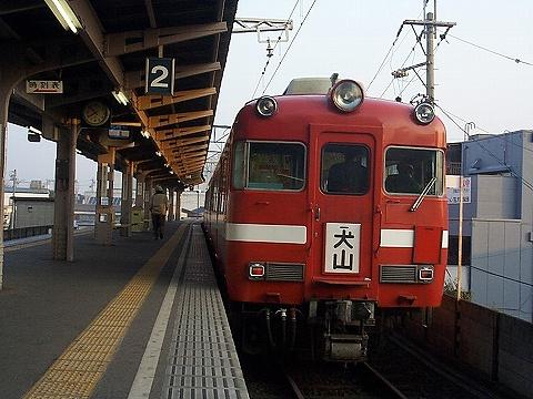 名鉄7707@上飯田'99.12
