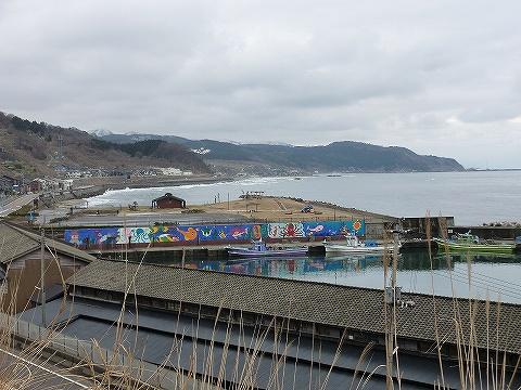 漁港@筒石