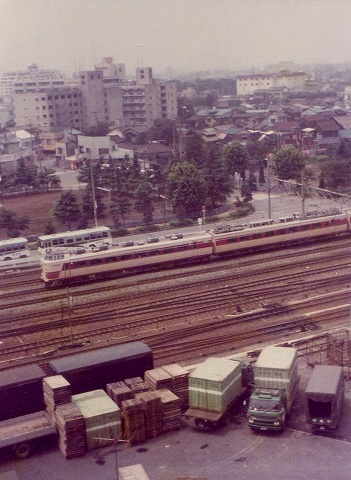 485系@川口'79
