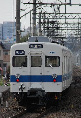 東武8000系@新河岸'10.4.9-1