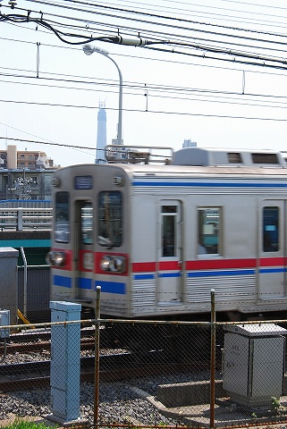 京成3600形@京成関屋'10.5.1