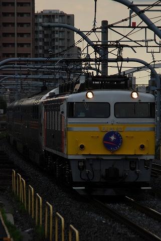 寝台特急カシオペア@さいたま新都心'10.5.14