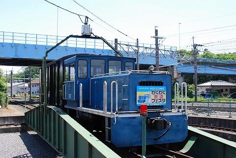 転車台@広瀬川原車両基地'10.5.15
