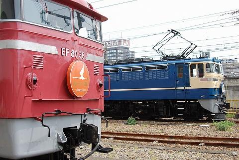 EF65-535&EF80-36@大宮総合車両センター'10.5.22