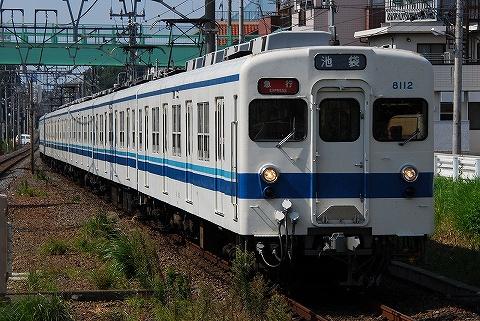 東武8000系@みずほ台'09.9