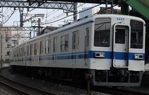 東武8000系@下板橋'09.6