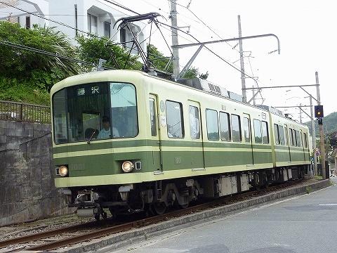 江ノ電1000形@稲村ケ崎'10.6.20