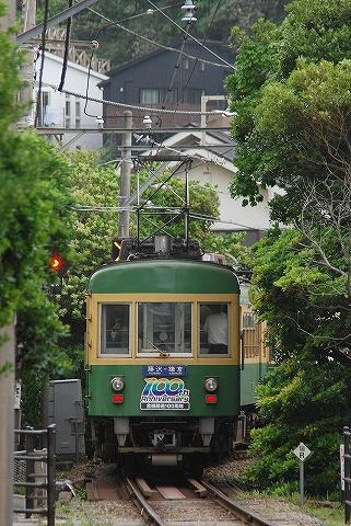 江ノ電300形@稲村ケ崎'10.6.20