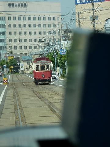 函館市交通局30形@らっくる号車内