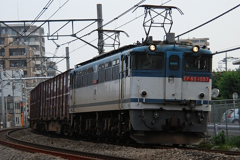 EF65-1057@宮原'10.7.17
