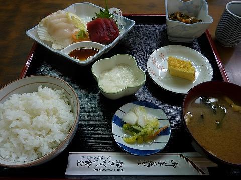 刺身定食@おさない食堂'10.6.13