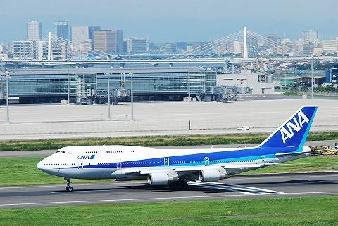 NHボーイング747-400@羽田空港'10.7.17