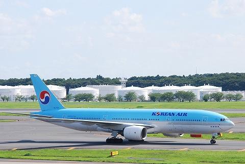 KEボーイング777-200@成田空港'10.7.17