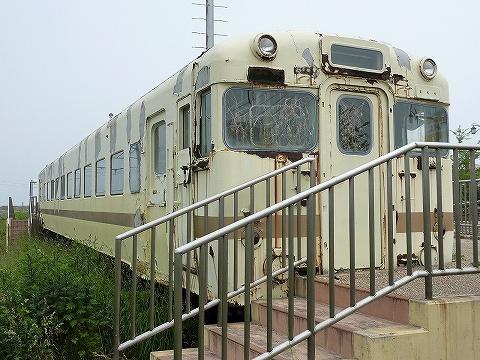 キハ58形留置車両