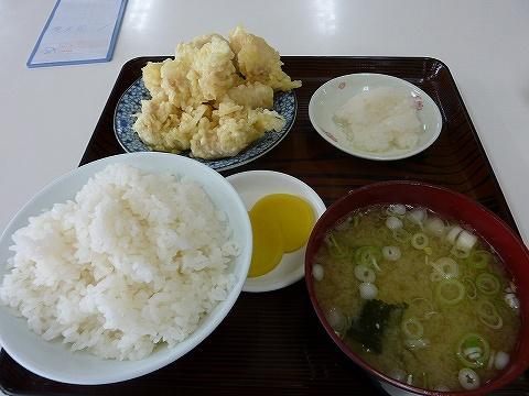 魚天ぷら定食@鶴亀屋食堂