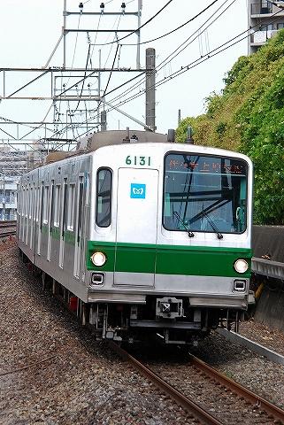東京メトロ6000系@新松戸'10.8.29