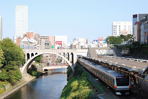 E233系&東京メトロ02系@御茶ノ水'10.9.4