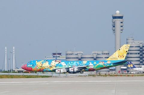 NHボーイング747-400@羽田空港'10.9.12-2