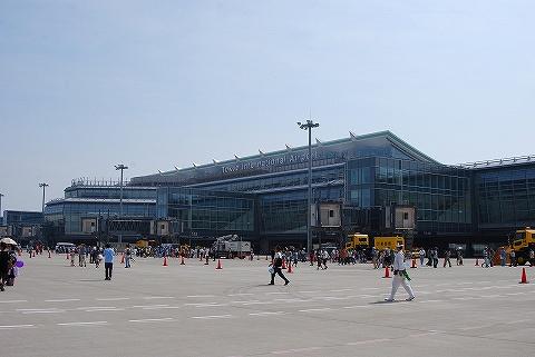 国際線ターミナル@羽田空港