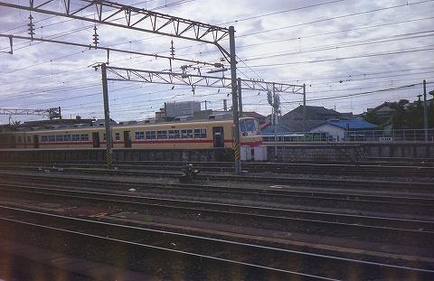 西鉄2000形@大牟田'85.7