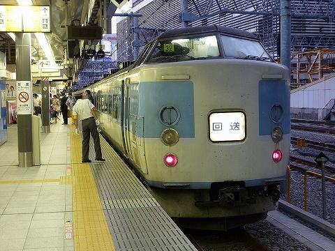快速ムーンライトえちご@新宿'10.8.28